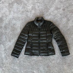 bernardo goose down jacket small gray Packable